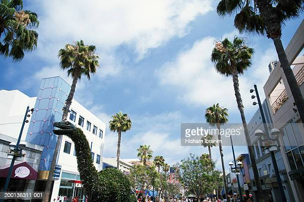 USA, California, Santa Monica, Third Street Promenade