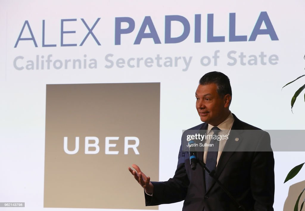 Uber And California Secretary Of State Announce Joint Initiative