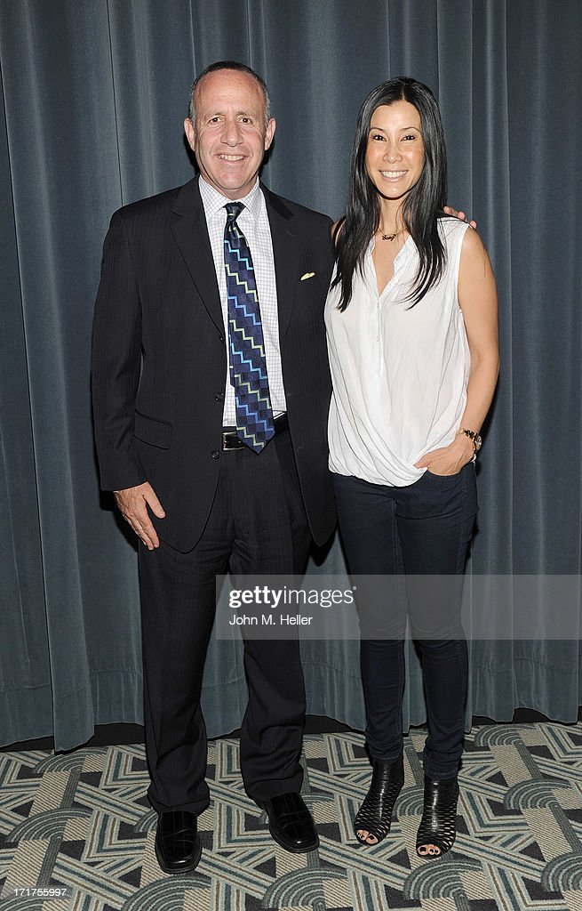 California Senate President pro tem Darrell Steinberg and Documentarian and Director of 'Gods and Gays' Lisa Ling attend the screening of 'Gods and Gays' a documentary by Lisa Ling at the Carey Grant Theatre at the Sony Pictures Studios on June 27, 2013 in Culver City, California.