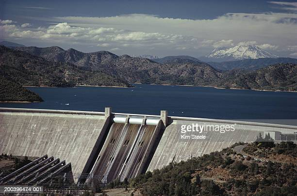 USA, California, Shasta Dam, Shasta Lake