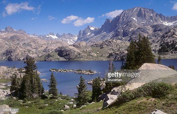 california sierra nevada - john muir trail stock photos and pictures