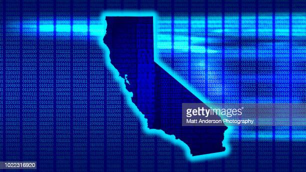 california - state 101010 - data privacy stock pictures, royalty-free photos & images