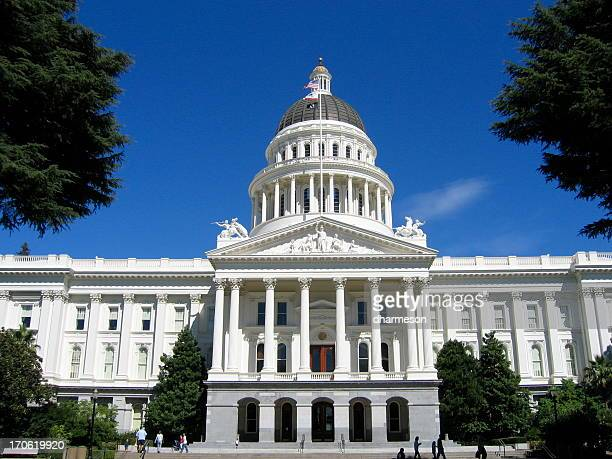 california state capital - kapitell stock-fotos und bilder