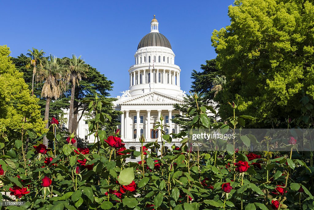 California State Capitol Building in Sacramento, CA, USA : Stock Photo