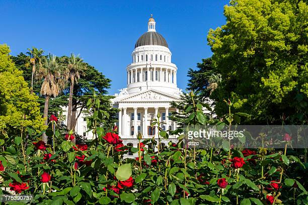 california state capitol building in sacramento, ca, usa - sacramento stock pictures, royalty-free photos & images