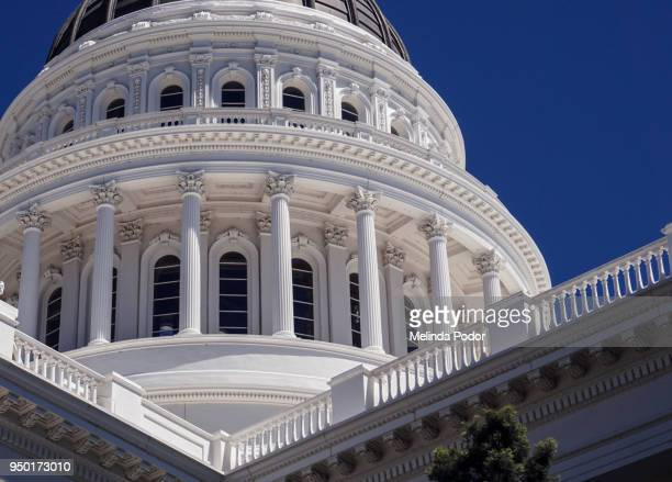 california state capitol building, sacramento - local government building stock pictures, royalty-free photos & images