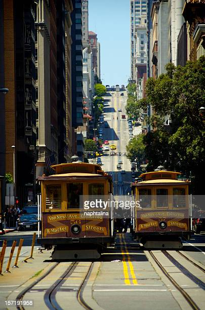 California street and cable car