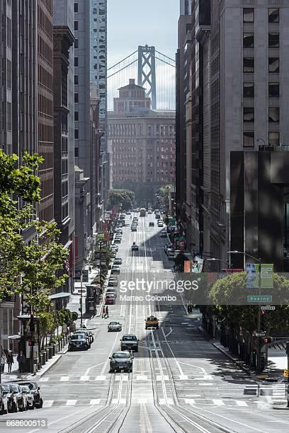 California street, San Francisco, California, USA