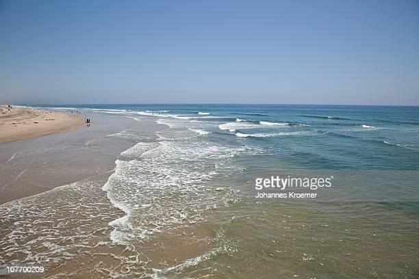 USA, California, Surf on Huntington Beach