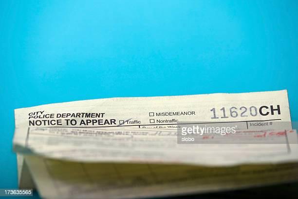 California Traffic Ticket