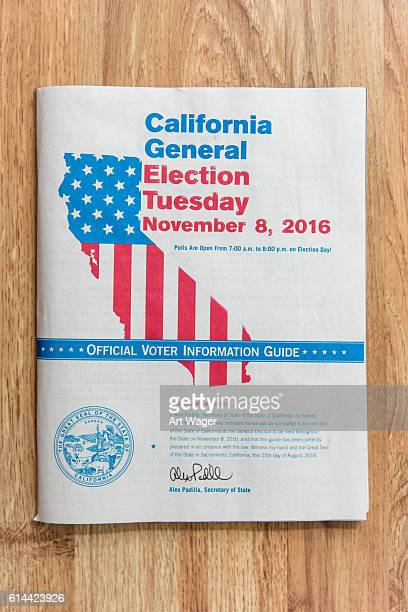 California Voter Information Guide 2016