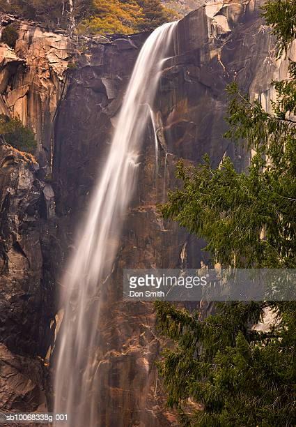 usa, california, yosemite national park, waterfall - don smith ストックフォトと画像