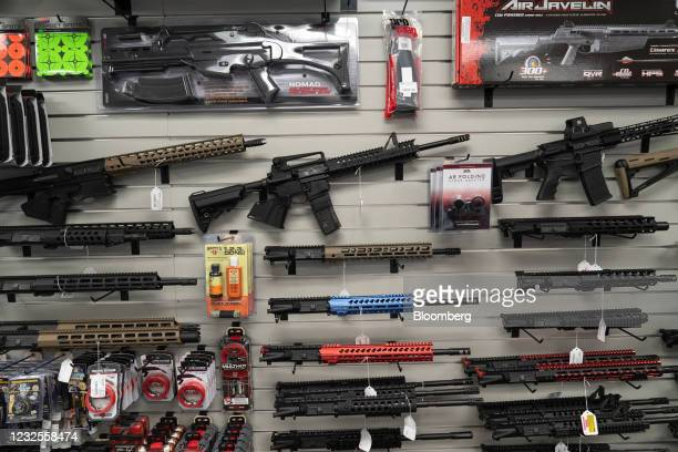 California-compliant AR-15 upper receivers, rifles, and gun accessories for sale at Hiram's Guns / Firearms Unknown store in El Cajon, California,...