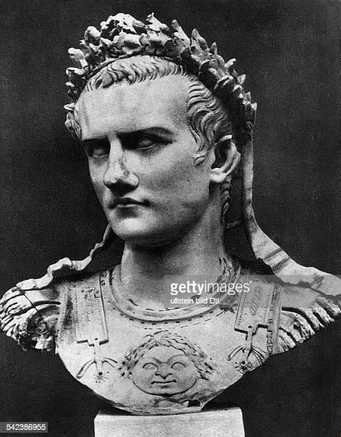Caligula 12 nChr 41röm kaiser 3741BüsteKopenhagen Glyptothek NyCarlsberg