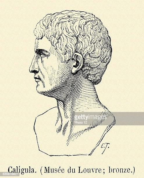 Caligula Gaius Caesar Augustus Germanicus Caligula Born in Antium in 12BC died in Rome in 41AD Son of Germanicus Unbalanced mentally speaking he...