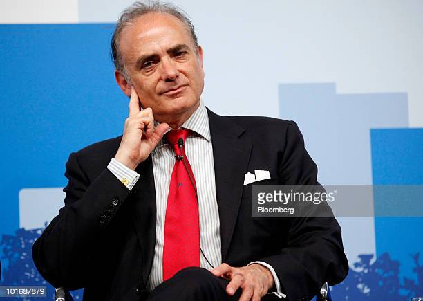 Calin Rovinescu chief executive officer of Air Canada pauses during the International Air Transport Association general meeting and world Transport...