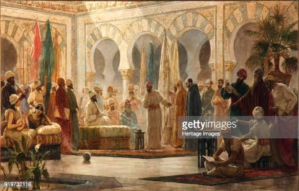 Caliph Abd alRahman III Receiving the Ambassador 1885 Found in the Collection of Universidad de Barcelona