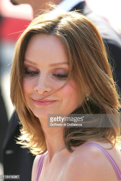 Calista Flockhart during 2005 Venice Film Festival Fragile Premiere at Sala Grande in Venice Italy