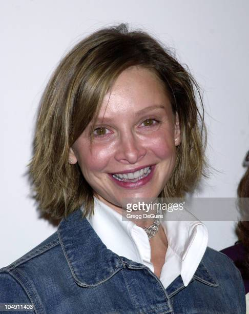 Calista Flockhart during 30th Anniversary Humanitarian Awards at Fairmont Miramar Hotel in Santa Monica California United States