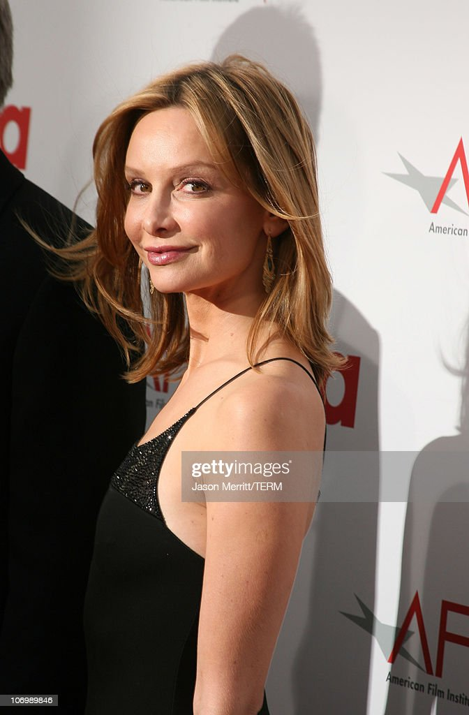 Calista Flockhart during 34th Annual AFI Lifetime Achievement Award: A Tribute to Sean Connery - Arrivals at Kodak Theatre in Hollywood, California, United States.