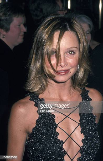 Calista Flockhart during 56th Annual Tony Awards Arrivals at Radio City Music Hall in New York City New York United States