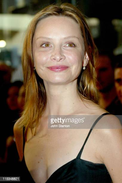 Calista Flockhart during 'Firewall' Sydney Premiere at Greater Union Bondi Junction in Sydney New South Wales Australia