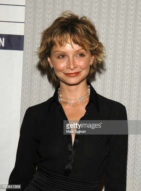 Calista Flockhart during LACAAW's 32nd Annual Humanitarian Awards at Fairmont Miramar Hotel in Santa Monica California United States