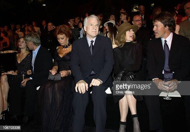 Calista Flockhart Harrison Ford Sophia Loren Steve Martin Diane Keaton and David E Kelley