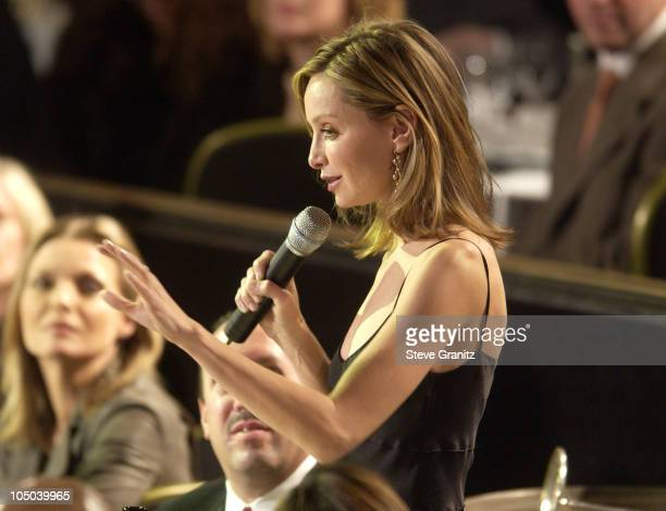 Calista Flockhart presenter during 55th Annual Writers Guild of America West Awards Show at Beverly Hilton Hotel in Beverly Hills California United...