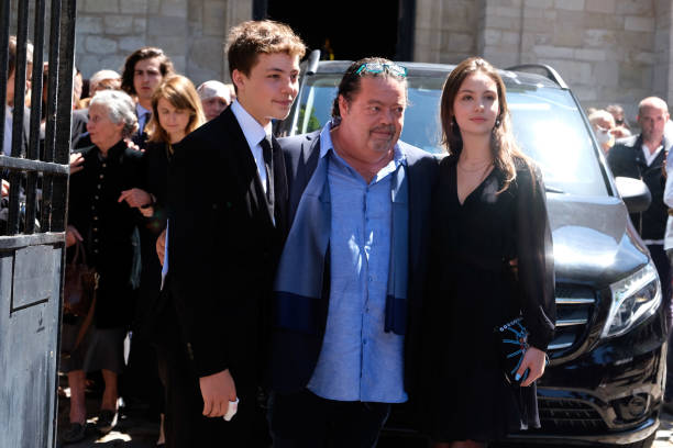 FRA: Hermine de Clermont-Tonnerre's Funeral In Paris
