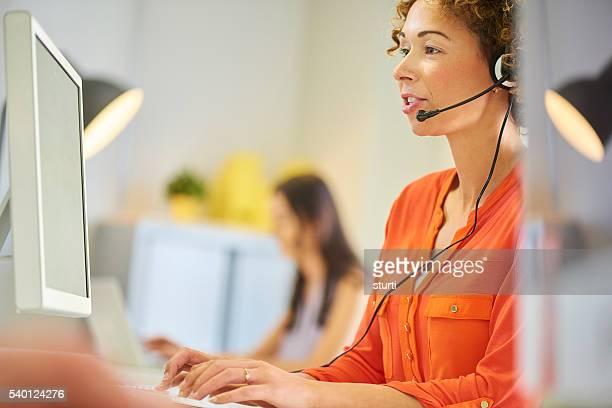 call-Center zur Verfügung