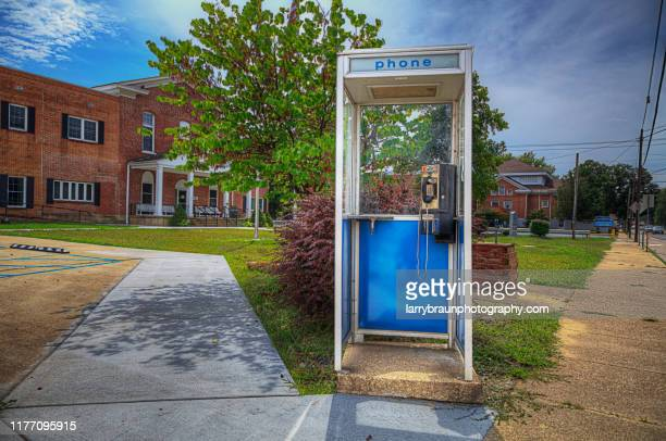 a call for justice - telephone booth stock pictures, royalty-free photos & images