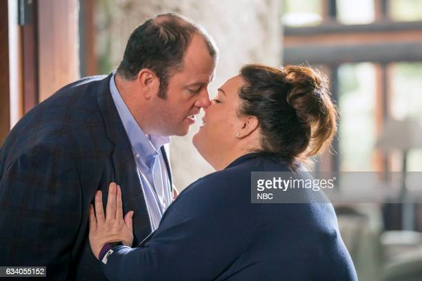 US 'I Call Marriage' Episode 114 Pictured Chris Sullivan as Toby Damon Chrissy Metz as Kate Pearson