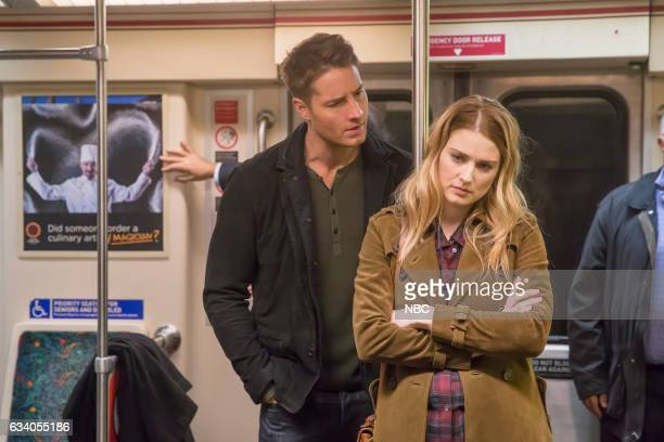 US 'I Call Marriage' Episode 114 Pictured Justin Hartley as Kevin Pearson Alexandra Breckenridge as Sophie