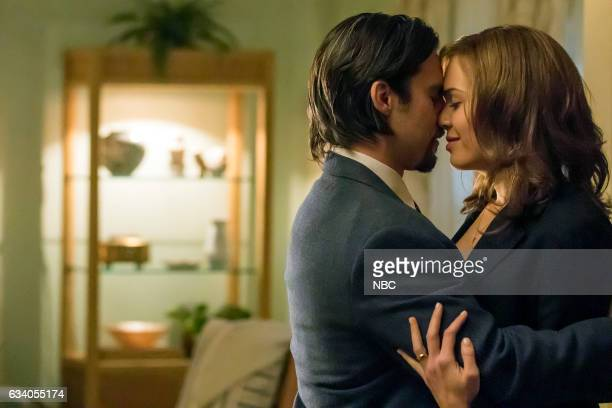 US 'I Call Marriage' Episode 114 Pictured Milo Ventimiglia as Jack Pearson Mandy Moore as Rebecca Pearson
