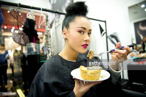 Call the fashion police Pies are on parade during London's Fashion Week as Sainsbury's celebrates the launch of it's new pie range unveiling how...