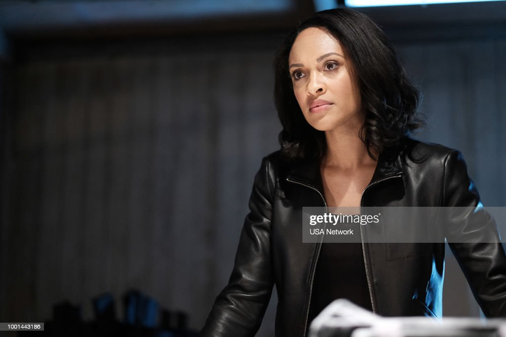 SHOOTER -- 'A Call to Arms' Episode 305 -- Pictured: Cynthia Addai-Robinson as Agent Nadine Memphis --