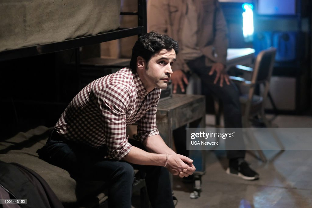 SHOOTER -- 'A Call to Arms' Episode 305 -- Pictured: Jesse Bradford as Harris Downey --