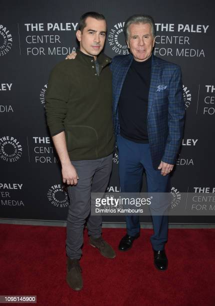 Callahan Walsh and John Walsh attend In Pursuit With John Walsh Screening Conversation at The Paley Center for Media on January 16 2019 in New York...