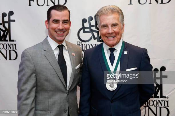 Callahan Walsh and John Walsh attend the 32nd Annual Great Sports Legends Dinner To Benefit The Miami Project/Buoniconti Fund To Cure Paralysis at...