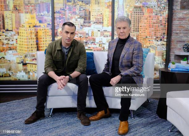 Callahan Walsh and John Walsh visit People Now on January 14 2020 in New York United States