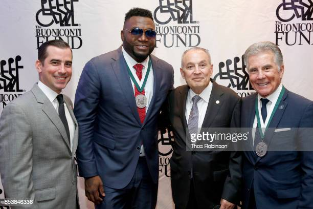 Callahan Walsh David Ortiz Dr Barth Green and John Walsh attend the 32nd Annual Great Sports Legends Dinner To Benefit The Miami Project/Buoniconti...