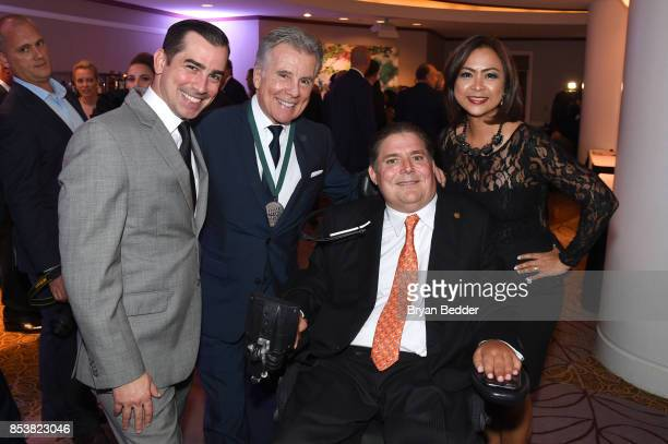 Callahan Walsh John Walsh Marc Buoniconti and Cynthia Halelamien attend the 32nd Annual Great Sports Legends Dinner To Benefit The Miami...