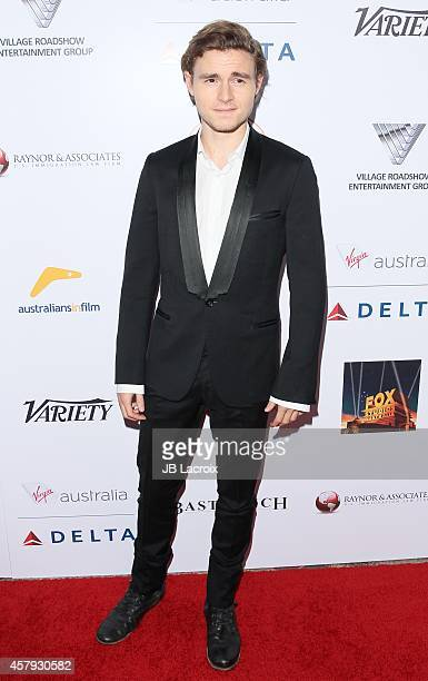 Callan McAuliffe attends the 3rd Annual Australians in Film Awards Benefit Gala at the Fairmont Miramar Hotel on October 26 2014 in Santa Monica...