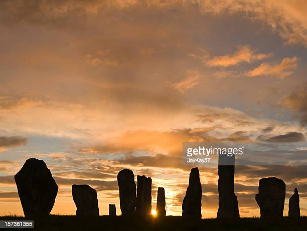 callanish 1 - midsommar stock pictures, royalty-free photos & images