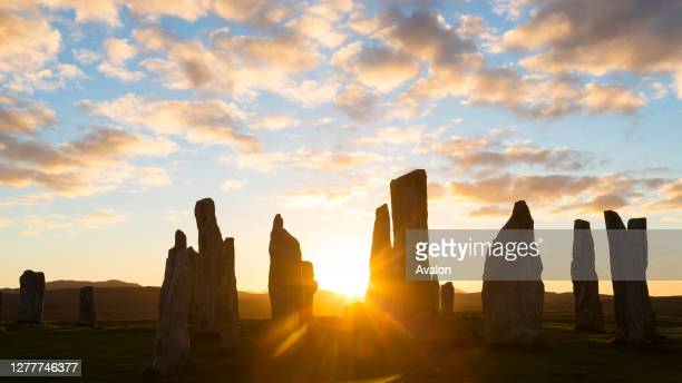 Callanish Standing Stones. Isle of Lewis. Outer Hebrides. Scotland.