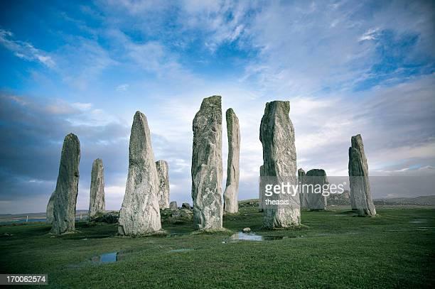 callanish standing stones, isle of lewis - theasis bildbanksfoton och bilder