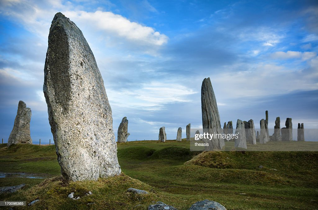 Callanish Standing Stones, Isle of Lewis : Stock Photo