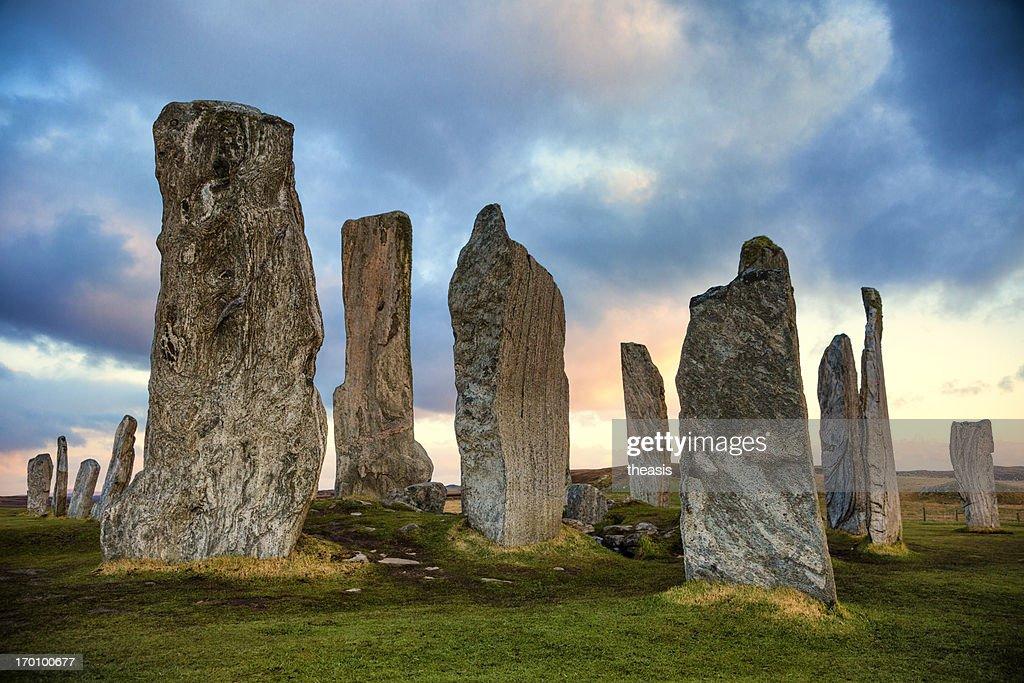 Callanish Standing Stones : Stock Photo