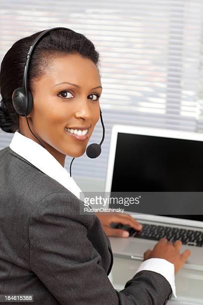 Call-center representative .